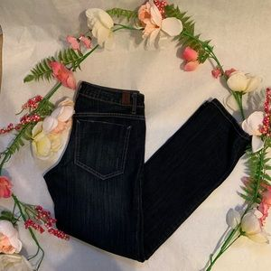 Simply Vera Cropped Jeans Vera Wang Mid Rose